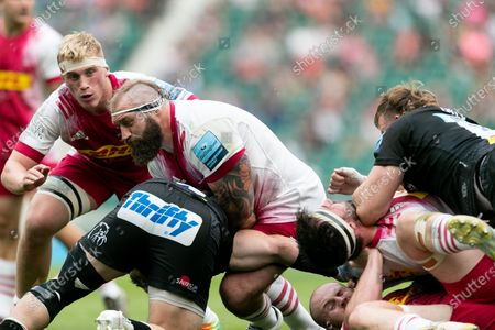Editorial photo of Exeter Chiefs v Harlequins - Gallagher Premiership Rugby Final, London, United Kingdom - 26 Jun 2021