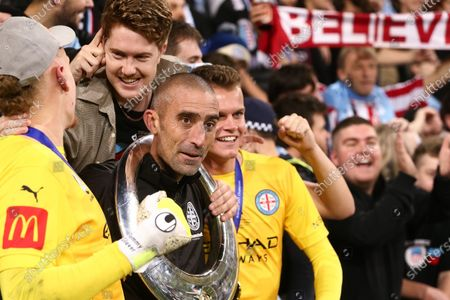 Melbourne City's Goal Keeper Coach, Neil Young during the A-League Grand-Final soccer match between Melbourne City FC and Sydney FC