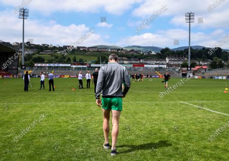 Down vs Donegal. Donegal's Michael Murphy