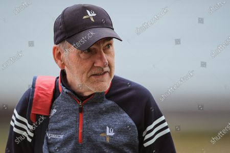 Offaly vs Louth. Louth manager Mickey Harte