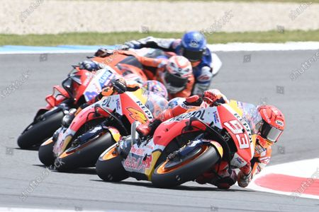 TT CIRCUIT ASSEN, NETHERLANDS - JUNE 27: Marc Marquez, Repsol Honda Team during the Dutch GP at TT Circuit Assen on Sunday June 27, 2021 in ASSEN, Netherlands. (Photo by Gold and Goose / LAT Images)