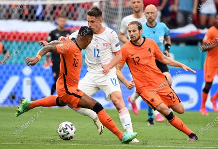 Editorial photo of Round of 16 Netherlands vs Czech Republic, Budapest, Hungary - 27 Jun 2021