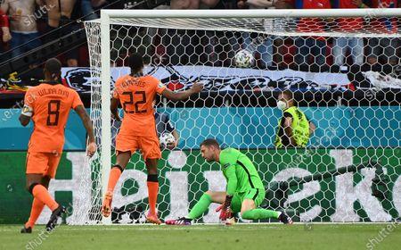 Editorial picture of Netherlands Czech Republic Euro 2020 Soccer, Budapest, Hungary - 27 Jun 2021