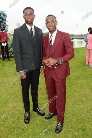Damson Idris and Michael Ward