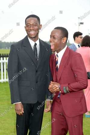 Stock Picture of Damson Idris and Michael Ward