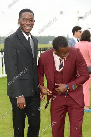 Stock Image of Damson Idris and Michael Ward