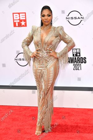 Editorial picture of BET Awards, Arrivals, Microsoft Theater, Los Angeles, California, USA - 27 Jun 2021