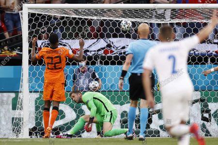 Editorial image of Round of 16 Netherlands vs Czech Republic, Budapest, Hungary - 27 Jun 2021