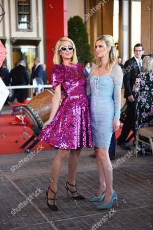 Paris Hilton and Nicky Hilton Rothschild
