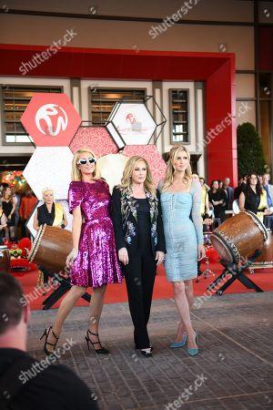 Paris Hilton, Kathy Hilton and Nicky Hilton Rothschild