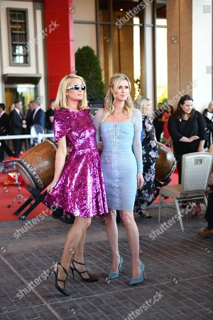 Stock Picture of Paris Hilton and Nicky Hilton Rothschild