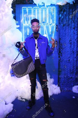 Editorial image of Yung Bleu's Moon Boy listening event, Members Nightclub, Los Angeles, California, USA - 26 Jun 2021
