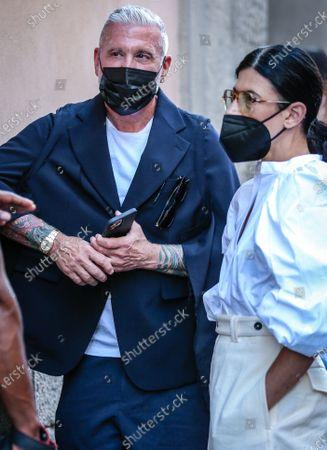 Editorial picture of Street Style, Milan Fashion Week Men's, Italy - 21 Jun 2021