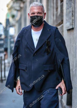Editorial photo of Street Style, Milan Fashion Week Men's, Italy - 21 Jun 2021