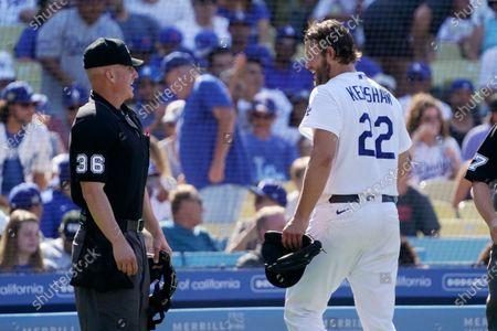 Editorial photo of Cubs Dodgers Baseball, Los Angeles, United States - 27 Jun 2021