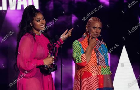 Editorial image of 2021 BET Awards - Show, Los Angeles, United States - 27 Jun 2021