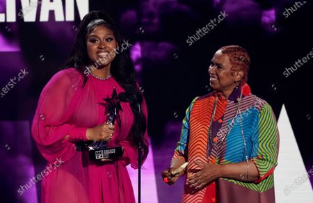 Editorial picture of 2021 BET Awards, Los Angeles, United States - 27 Jun 2021