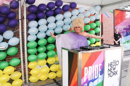 Editorial photo of Leslie Jordan x Nordstrom NYC Pride Event, New York, USA - 27 Jun 2021