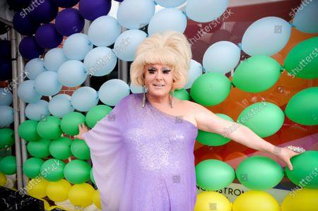 Editorial picture of Leslie Jordan x Nordstrom NYC Pride Event, New York, USA - 27 Jun 2021