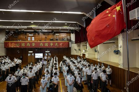 Editorial photo of China to mark 100th founding anniversary of the Chinese Communist Party, Hong Kong - 07 Jun 2021