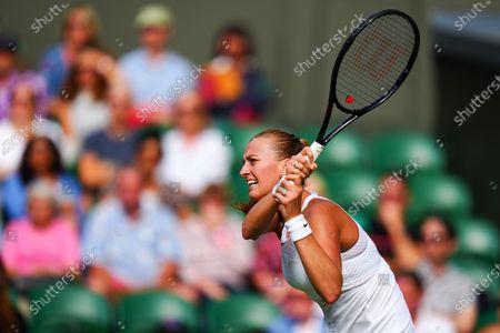 Petra Kvitova during her first round match