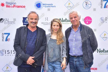 Akli Tajer, Tristane Banon, Philippe Grimbert.