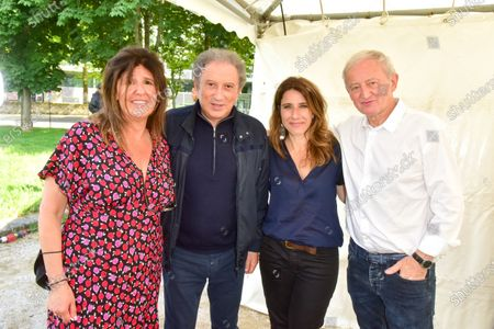 Francoise Smadja, Michel Drucker, Nathalie Levy, Yann Queffelec.