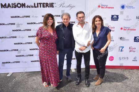 Francoise Smadja, Michel Drucker, Yann Moix, Nathalie Levy.