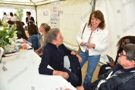 Michel Drucker, Anne Roumanoff.