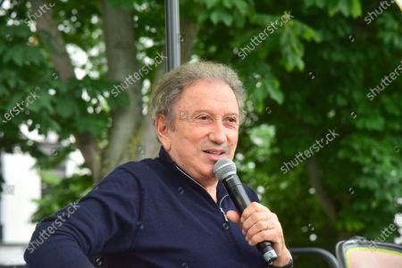 Stock Picture of Michel Drucker.