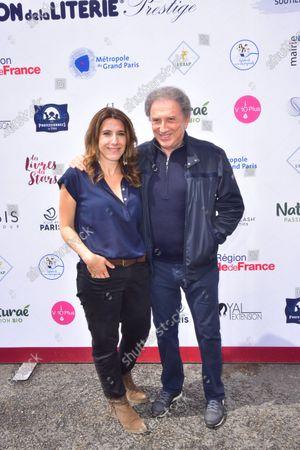 Nathalie Levy, Michel Drucker.