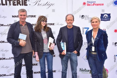 Philippe Caroit, Anne Parillaud, Bernard Minier, Laetitia Krupa.