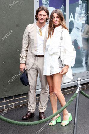 Stock Photo of Jake Hall and Misse Beqiri