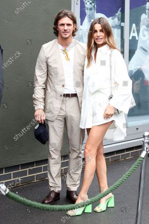 Editorial picture of Wimbledon Tennis Championships, Day 1, The All England Lawn Tennis and Croquet Club, London, UK - 28 Jun 2021
