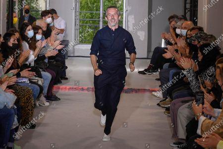 Editorial picture of Officine Generale show, Runway, Spring Summer 2022, Paris Fashion Week Men's, France - 25 Jun 2021