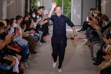 Editorial photo of Officine Generale show, Runway, Spring Summer 2022, Paris Fashion Week Men's, France - 25 Jun 2021