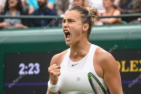 Editorial image of Wimbledon Championships 2021, United Kingdom - 28 Jun 2021