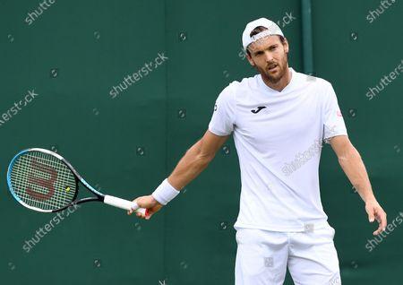 Editorial picture of Wimbledon Championships 2021, United Kingdom - 28 Jun 2021