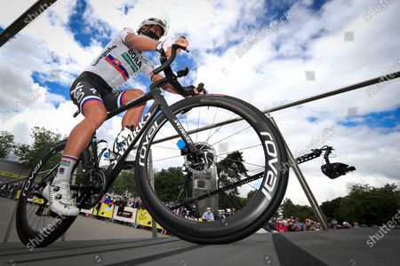 Slovakian Peter Sagan of Bora-Hansgrohe pictured at the start of the third stage of the 108th edition of the Tour de France cycling race, 182,9km from Lorient to Pontivy, France, Monday 28 June 2021. This year's Tour de France takes place from 26 June to 18 July 2021.