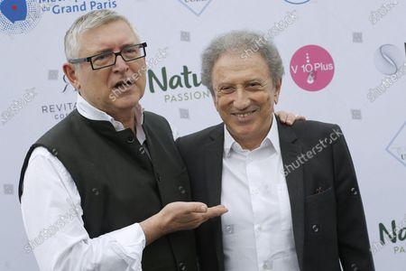 Michel Onfray and Michel Drucker