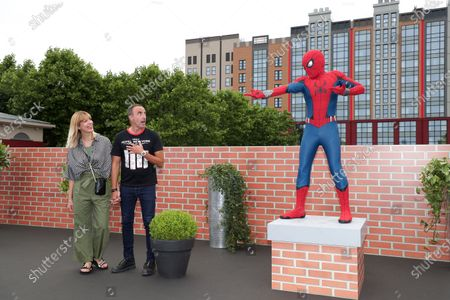 Editorial photo of Re-opening of Disney's Hotel New York - The Art of Marvel at Disney Paris, Marne-la-Vallee, France - 26 Jun 2021