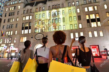Editorial image of Marc Jacobs show, Fall Winter 2021, New York, USA - 28 Jun 2021