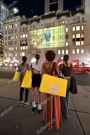 Editorial photo of Marc Jacobs show, Fall Winter 2021, New York, USA - 28 Jun 2021