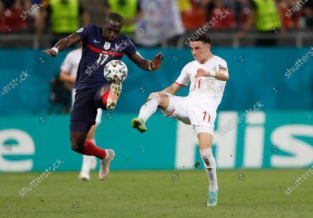 Editorial picture of France Switzerland Euro 2020 Soccer, Bucharest, Romania - 28 Jun 2021