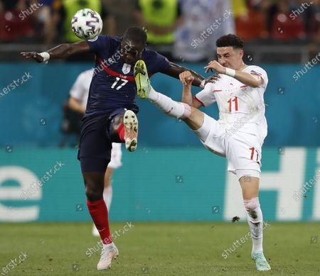 Editorial photo of Round of 16 France vs Switzerland, Bucharest, Romania - 28 Jun 2021
