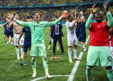 Editorial picture of Round of 16 France vs Switzerland, Bucharest, Romania - 28 Jun 2021