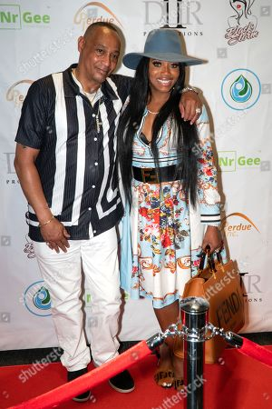 Stock Picture of HH and Yandy Smith