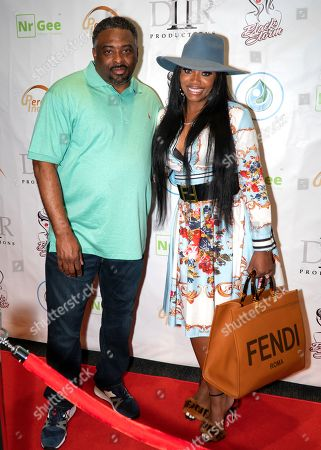 Dennis Reed II and Yandy Smith