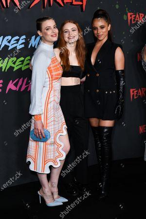 Gillian Jacobs, Sadie Sink and Kiana Madeira