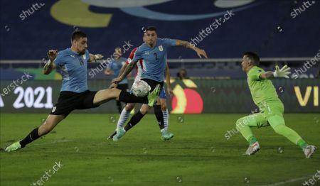 Editorial photo of Uruguay Paraguay Copa America Soccer, Rio De Janeiro, Brazil - 28 Jun 2021